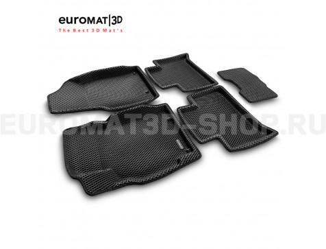3D коврики Euromat3D EVA в салон для Geely Emgrand X7 (2018-) № EM3DEVA-001401