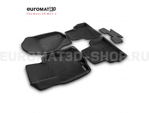 3D коврики Euromat3D EVA в салон для Infiniti FX,QX70 (2008-2014/2015-) № EM3DEVA-002802